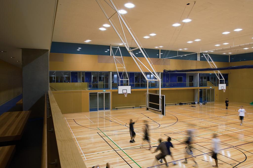 Construction Business Auckland Grammar School Gymnasium Building