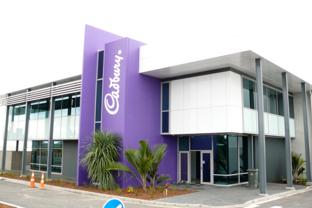 Construction Company Cadbury Distribution Centre