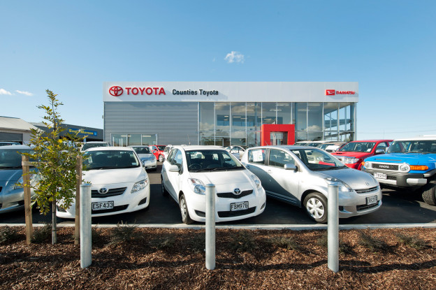 Building Construction NZ Toyota Takanini Aspec