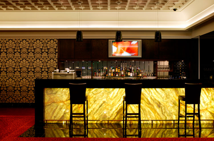 Commercial Interiors Sky City Auckland Members Only Lounge Aspec Construction