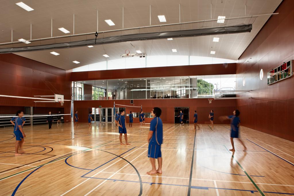 Construction Builders Aspec St Peters College Gymnasium
