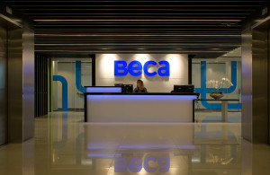 Corporate Interiors Beca Aspec Construction