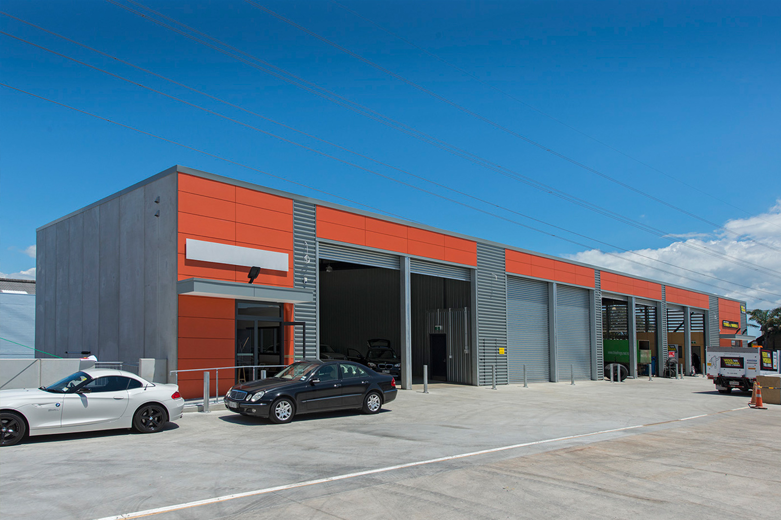 Retail and warehousing developer