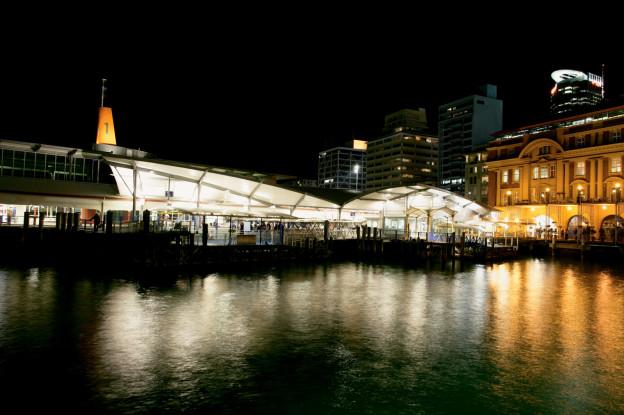 Concrete Construction ARTNL Downtown Ferry Terminal