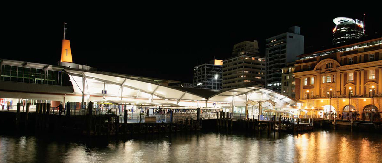 Building Construction of ARTNL Downtown Ferry Terminal