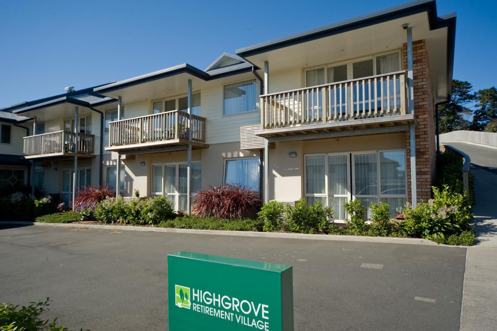 Building Construction Highgrove Retirement Village