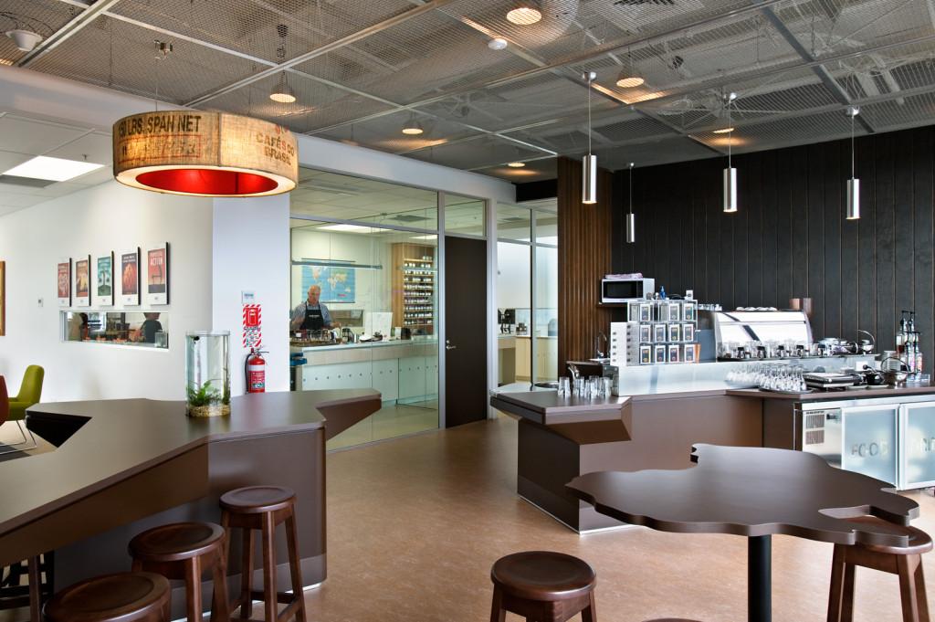 Commercial Interiors Bell Tea Head Office Warehouse Aspec Construction
