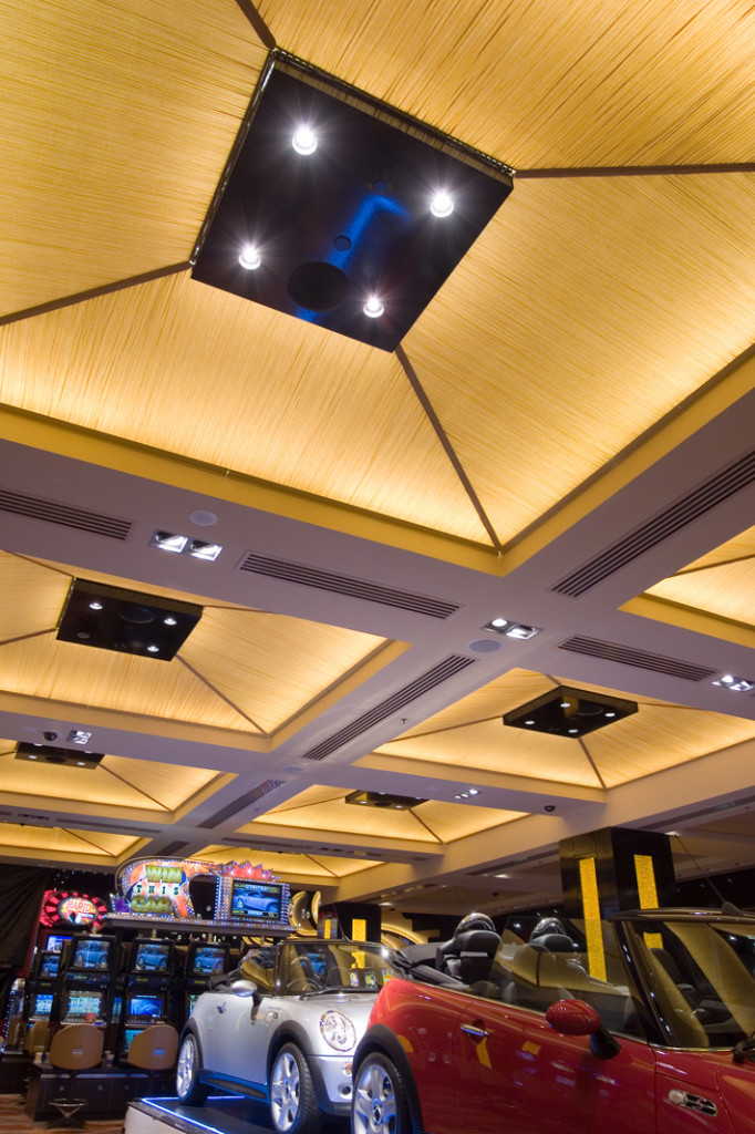 Commercial Interiors Sky City Casino Auckland Aspec Construction