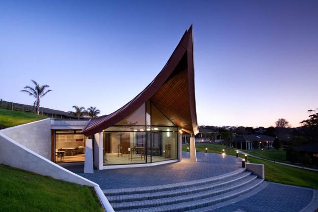 Construction NZ Vaughan Park Chapel Aspec