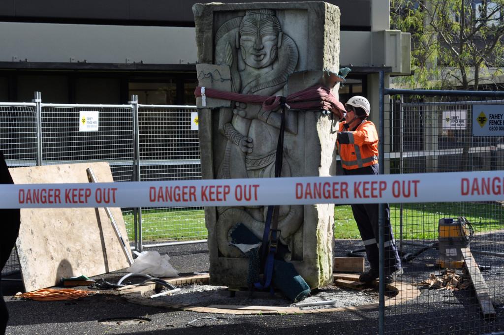 Facilities-Maintenance-AUT-Statue-Installation-Manukau-Aspec-Construction