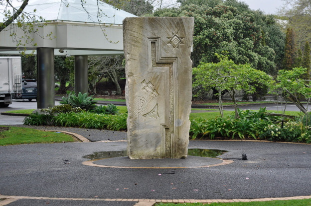 Facilities Maintenance AUT Statue Installation Manukau Aspec Construction